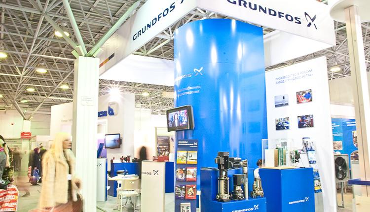GRUNDFOS. Выставка YUGBUILD - 2012 стенд 2